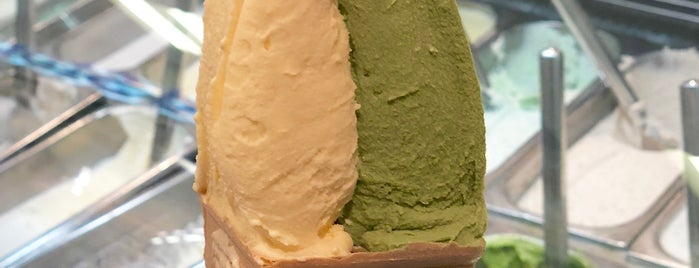 Azabu Sabo Hokkaido Ice Cream is one of My Singapore Trip'12.