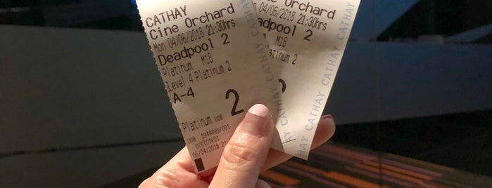 Platinum Movie Suites at Cineleisure Orchard is one of Singapore.