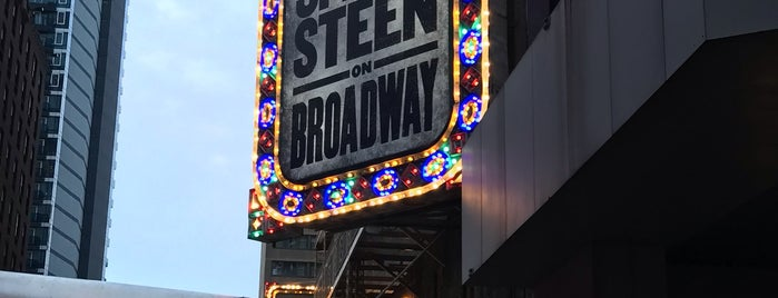 Springsteen On Broadway is one of David'in Beğendiği Mekanlar.