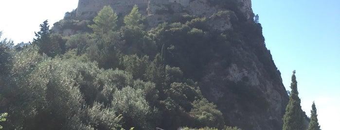 Castle Of Angelokastro is one of Corfu, Greece.