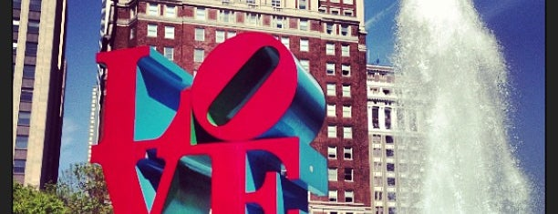 LOVE Sculpture is one of USA Philadelphia.