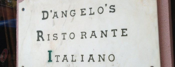 D'Angelo's Ristorante Italiano is one of Jan 20 Restaurant Week.