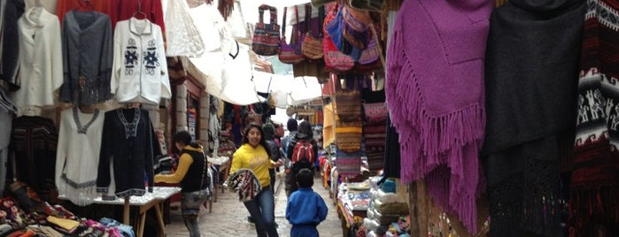 Mercado Abierto de Pisac is one of Sacred Valley.