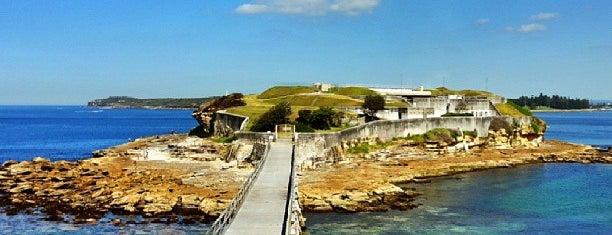 Bare Island is one of Australia - Sydney.