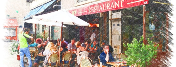 La Fresque is one of Restaurants parisiens.