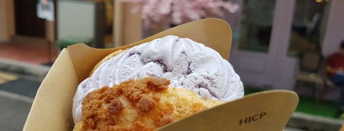 Hokkaido Ice Cream Puff is one of Sing resto.
