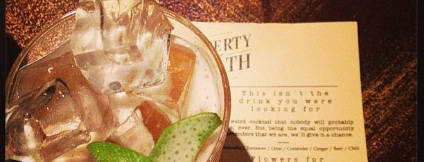 Liberty or Death is one of Best Cocktail Bars in Europe.