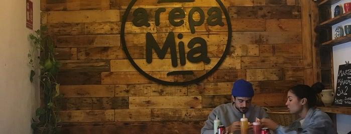 Arepa Mia is one of arepas.