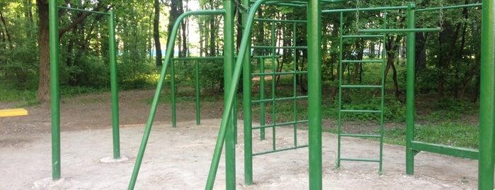 """Турники (Парк """"Дубки"""") is one of สถานที่ที่ Marina ถูกใจ."""