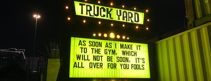 Truck Yard is one of houston.