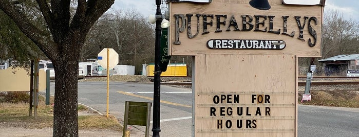 Puffabelly's Old Depot Restaurant is one of Food.