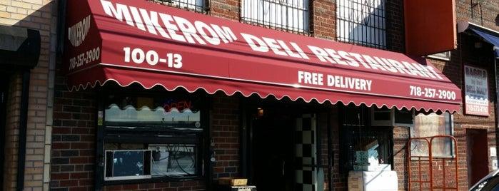 MIKEROM Deli Restaurant (J&Z) is one of Date.