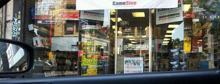 GameStop is one of Flatbush Spots.