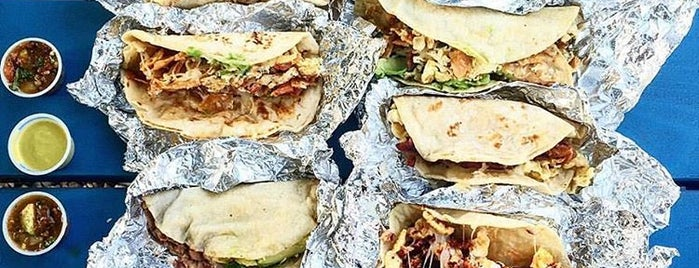 Veracruz All Natural is one of America's Greatest Taco Spots.