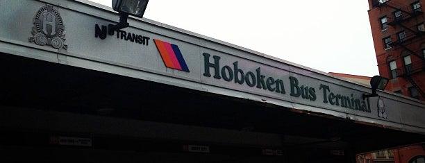Hoboken Bus Terminal is one of Hoboken.