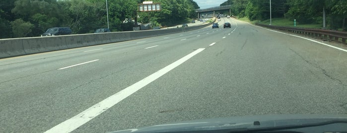 Garden State Parkway at Exit 156 is one of New Jersey highways and crossings.