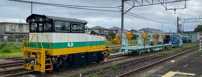 Niwasaka Station is one of JR 미나미토호쿠지방역 (JR 南東北地方の駅).