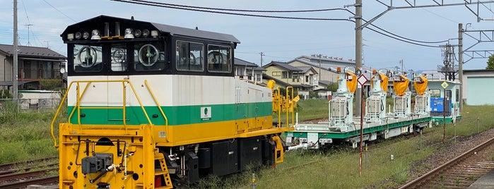 庭坂駅 is one of JR 미나미토호쿠지방역 (JR 南東北地方の駅).