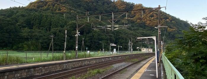 Higashi-Shiroishi Station is one of JR 미나미토호쿠지방역 (JR 南東北地方の駅).