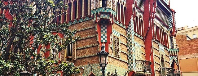Casa Vicens is one of barcelona • outdoor.