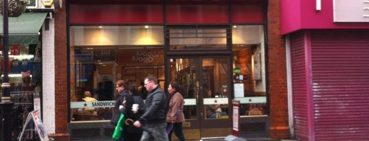 Pret A Manger is one of Stuff I want to see and redo in London.
