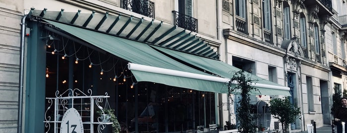 Treize Bakery is one of Paris.