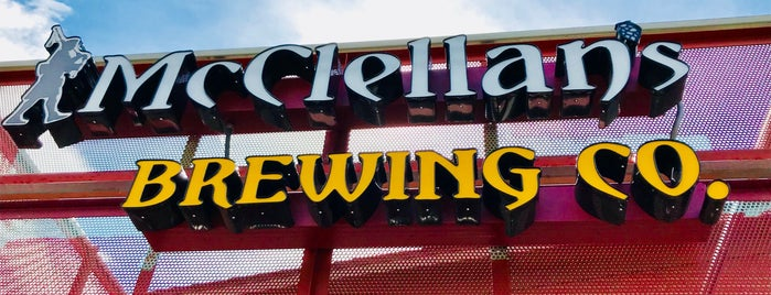 McClellan's Brewing Company is one of Mo : понравившиеся места.