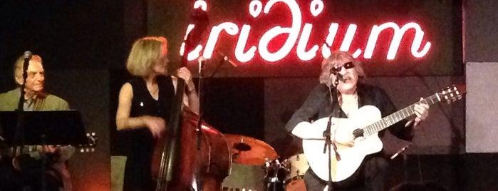 The Iridium is one of Jazz clubs.
