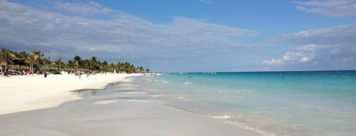Playa Paraiso is one of Tulum.
