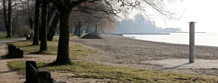 Parc du Bourget is one of Lausanne.