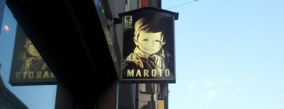 Maroto Bar is one of Bars + Restaurants.