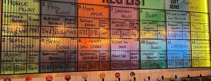 Beatnikz Republic Bar is one of Manchester crawl.