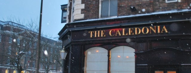 The Caledonia is one of Liverpool - live music.