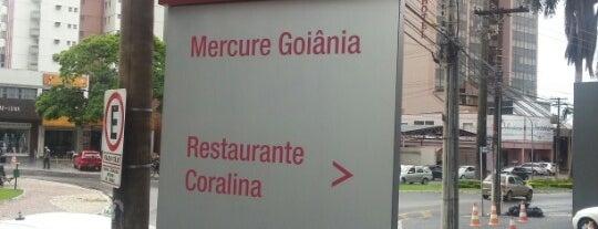 Mercure Goiânia Hotel is one of Locais curtidos por Fernando.