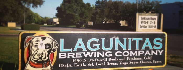 Lagunitas Brewing Company is one of Beer / Ratebeer's Top 100 Brewers [2018].