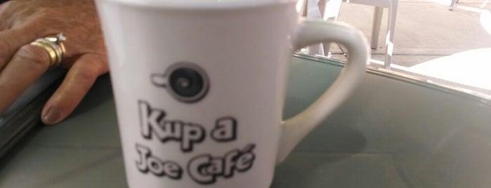 Kup A Joe Cafe' is one of Lieux qui ont plu à Stephan.