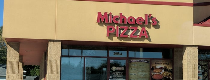 Michael's Pizza is one of favorites 1.