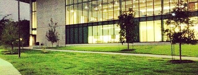 Munday Library St. Edward's University is one of Austin TX.