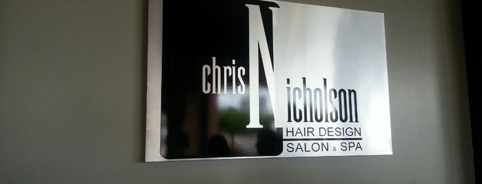Chris Nicholson Hair Design Salon & Spa is one of Ashley'in Kaydettiği Mekanlar.