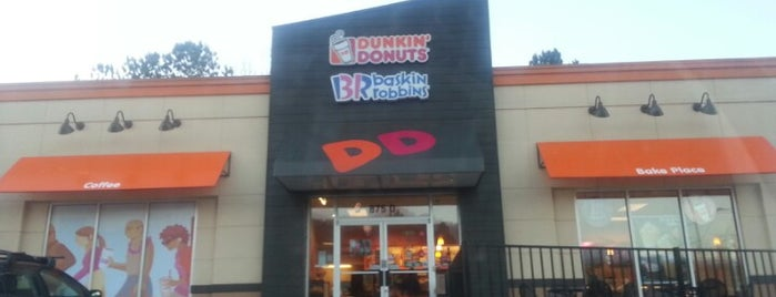 Dunkin' is one of 416 Tips on 4sqDay 2012.