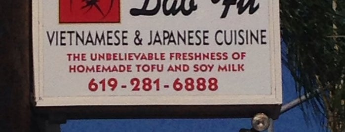 DAO Fu is one of San Diego.