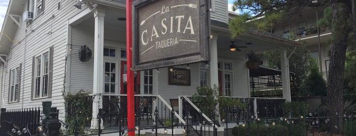 La Casita Taqueria is one of New Orleans.