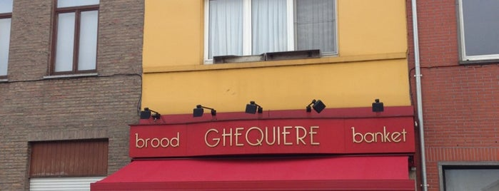 Bakkerij Ghequiere is one of Restaurants Gent.