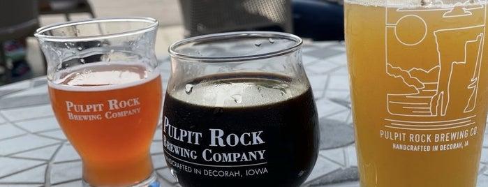 Pulpit Rock Brewing Company is one of Derek 님이 좋아한 장소.
