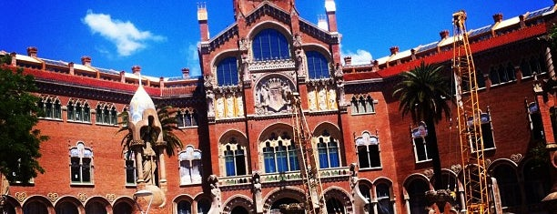 Sant pau is one of Barcelona.