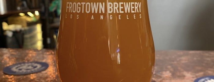 FrogTown Brewery is one of LA, Brah.