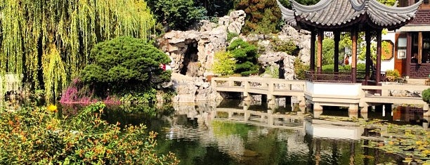 Lan Su Chinese Garden is one of Portland.