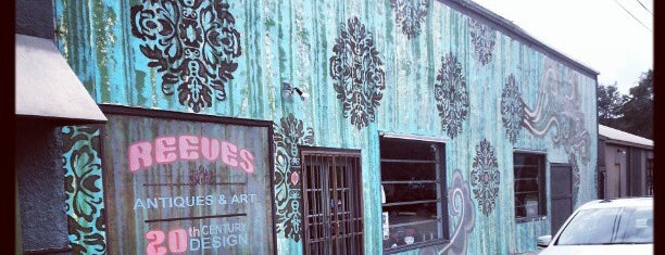 Reeves Antiques is one of Texas.