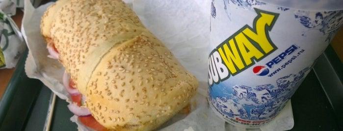 Subway is one of 24 Hour Restaurants.