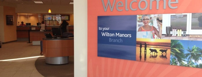 Suntrust Bank is one of Wilton Manors Favorites.